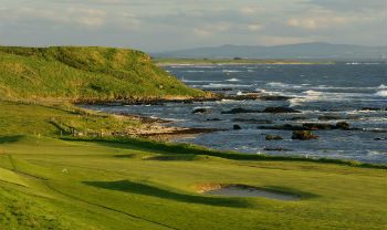 Crail Balcomie golf Skotland