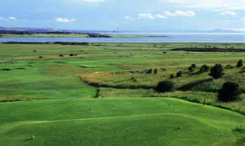 Gullane golf Skotland