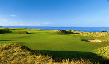 Kingsbarns golf i Skotland