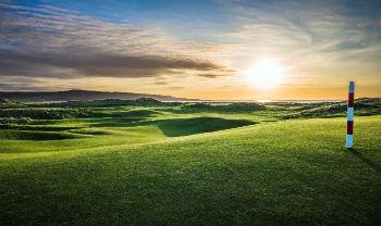 Machrie golf Skotland
