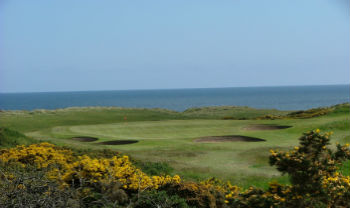 Royal Aberdeen golf Skotland
