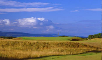 Royal Dornoch golf Skotland