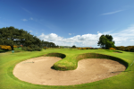 Bunker-Carnoustie-Championship Golf i Skotland