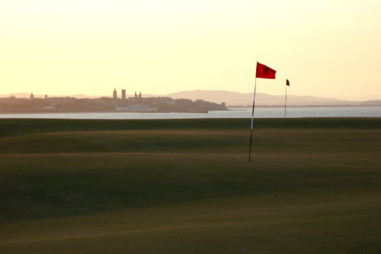 Castle course golf skotland