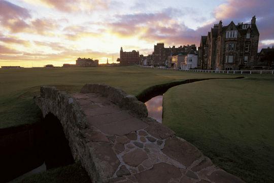 Old course bridge golf skotland