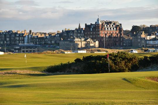 St andrews golf skotland